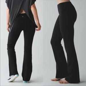 Lululemon black flare yoga pants